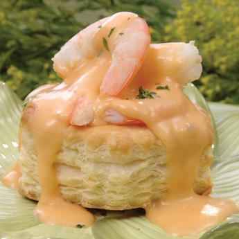 This is Shrimp Newburg.